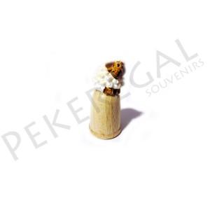 Dedal madera figura oveja