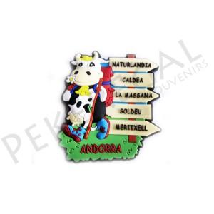 Imanes goma vaca 5 caminos Andorra