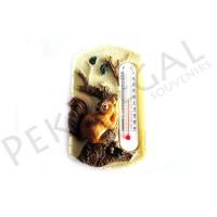 Figura termómetro ardilla