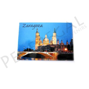 Imán fotográfico Zaragoza