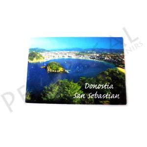 Imán fotográfico San Sebastian - Donostia