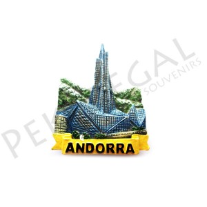 Imanes resina Caldea Andorra