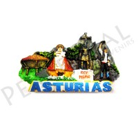 Imanes resina collage Asturias