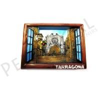 Imanes resina ventana catedral de Tarragona