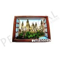 Imanes resina ventana Zaragoza