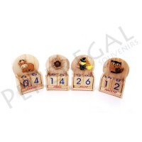 Calendarios de madera sobremesa