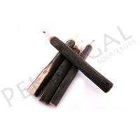 Lápices de madera rústicos de colores