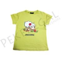Camisetas manga corta Oveja Andorra