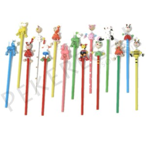 Lápices de madera animales