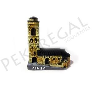 Maqueta de Ainsa