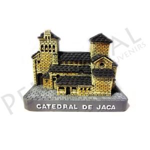 Maqueta de la catedral de Jaca