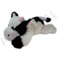 Peluche de vaca con pelo suave